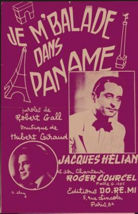 Je m'ballade dans Paname